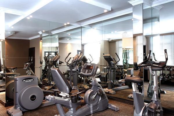 Gym pictures manhattan hotel pretoria